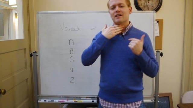Voiced vs. Voiceless Pronunciation