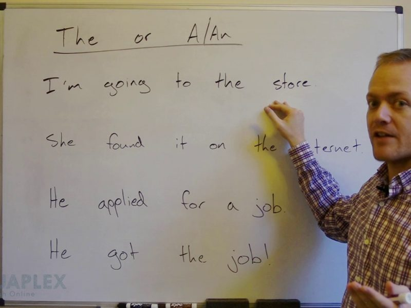 When to Use 'The' in English